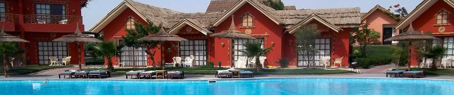 Pool side bungalows