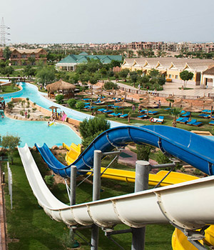 Slide attractions view